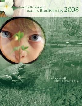 Cover of Interim Report on Ontario's Biodiversity 2008