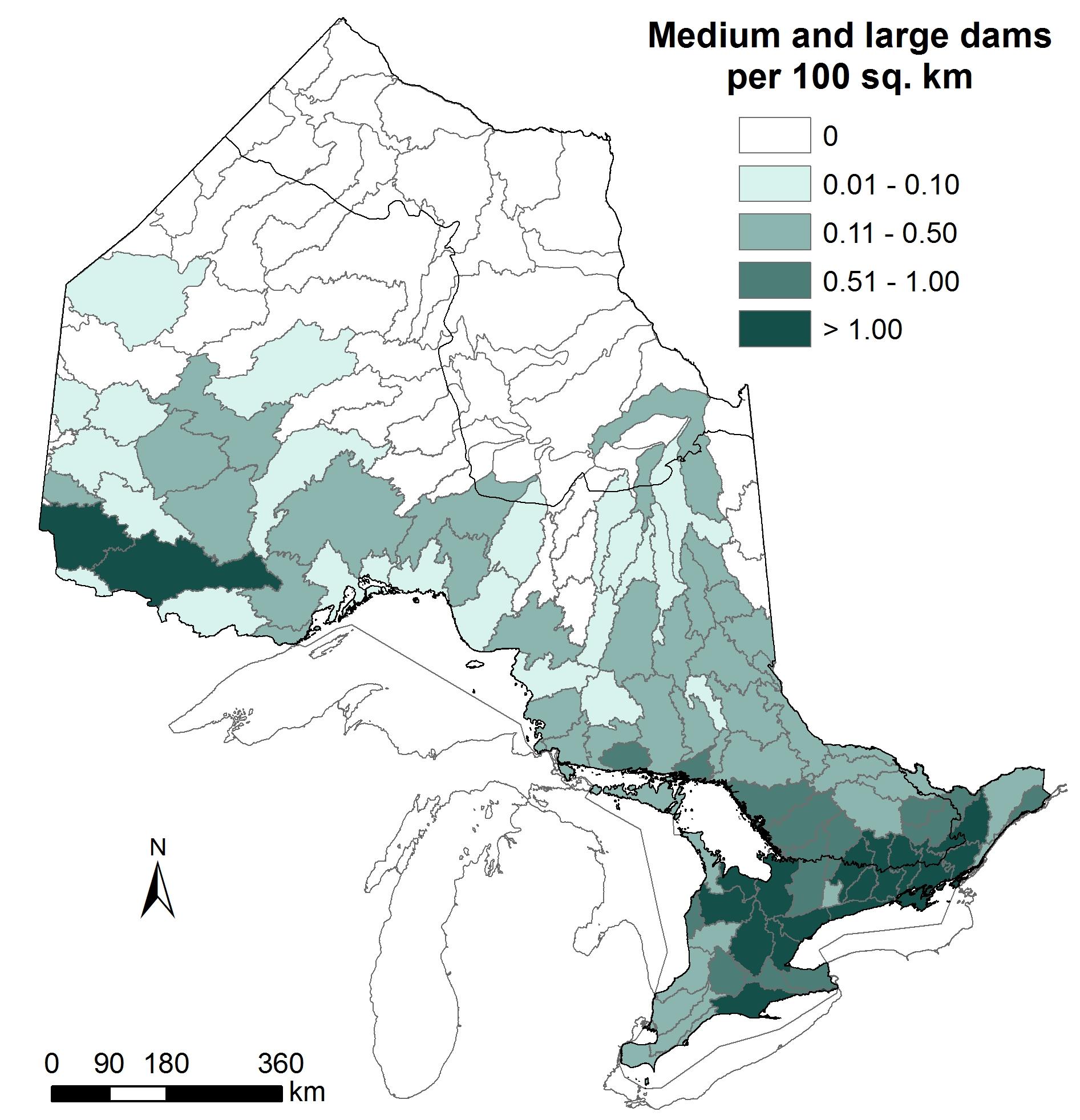 Dams per 100 sq km_w