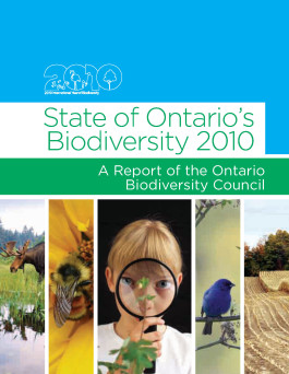 Cover of State of Ontario's Biodiversity 2020 - Technical Report.