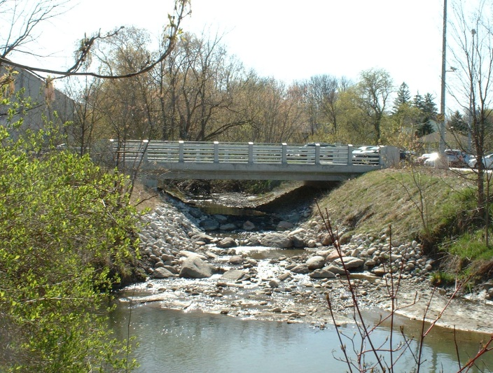 Figure 2. Western Creek after restoration.